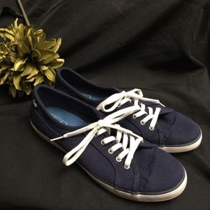 Keds-Blue with White Laces- Size: 9.5